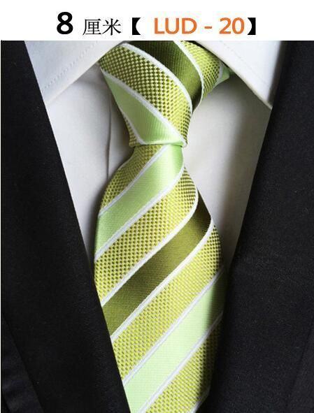 7e631e54d4ab GUSLESON Classic 100% Silk Mens Ties New Design Neck Ties 8cm Plaid&Striped  Ties for Men
