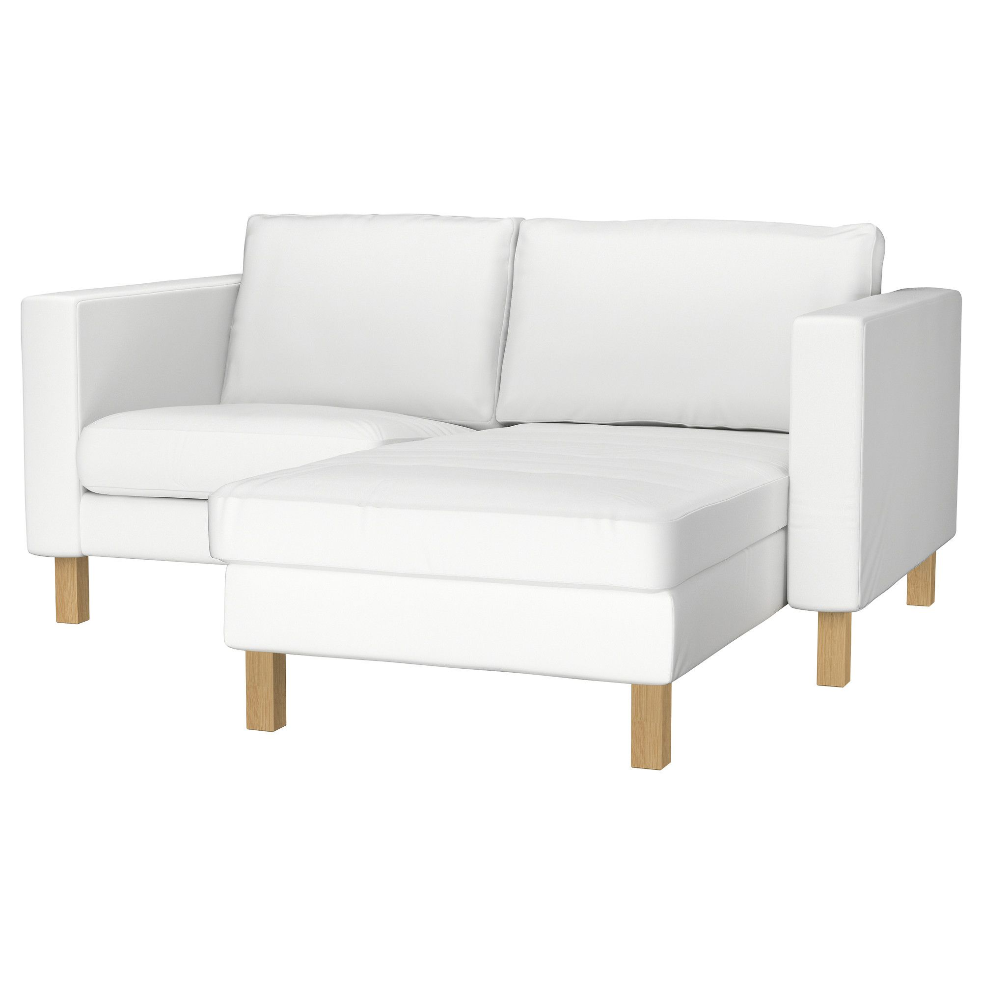 KARLSTAD Armchair and chaise lounge Blekinge white IKEA This
