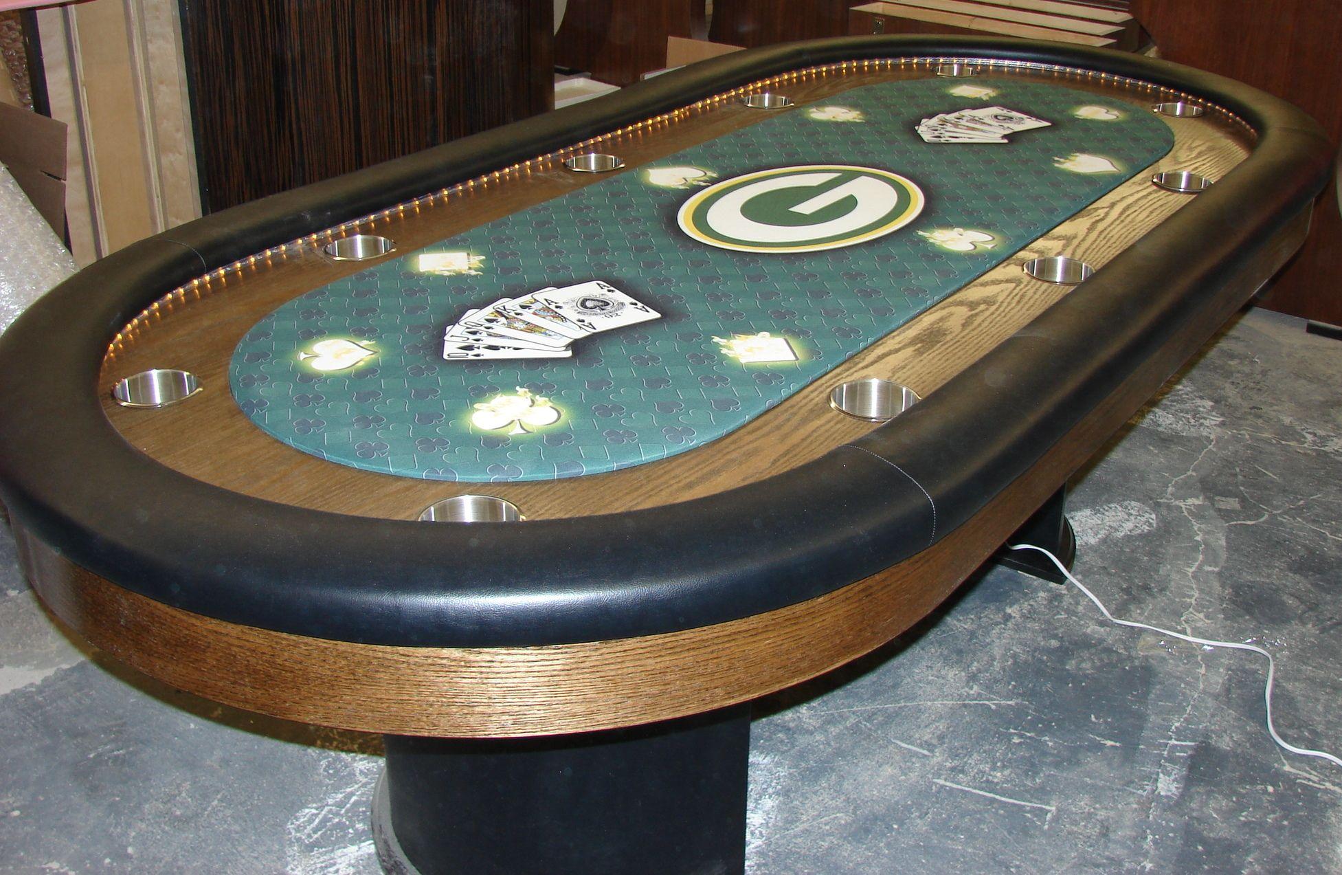 Custom table Green Bay Packers