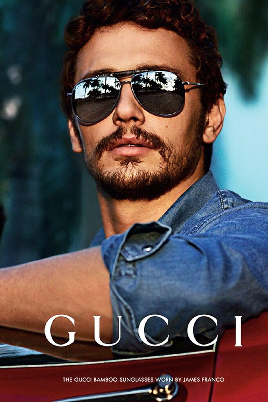 17e42a4f76 James Franco | Hotness! | James franco, Gucci, Gafas de sol
