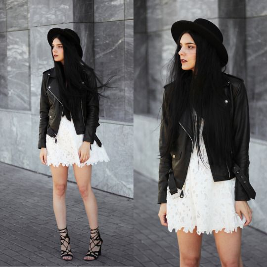claudia holynights. | — style. | Lace dress styles, White