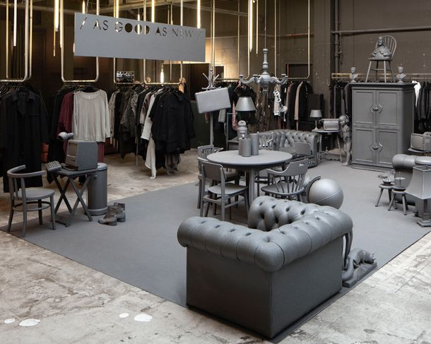"""""""As Good As New"""", exclusiva edición de muebles reciclados por i29 - http://www.anormalmag.cl/diseno/as-good-as-new/"""