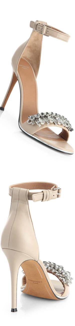 Givenchy Jeweled Mona Sandals