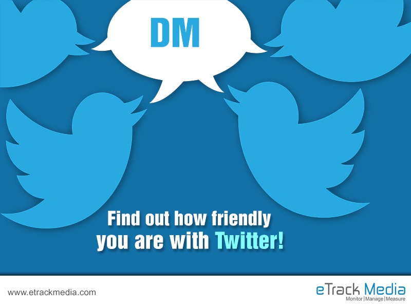 1.) What does DM means on Twitter? A.) Digital Marketing B