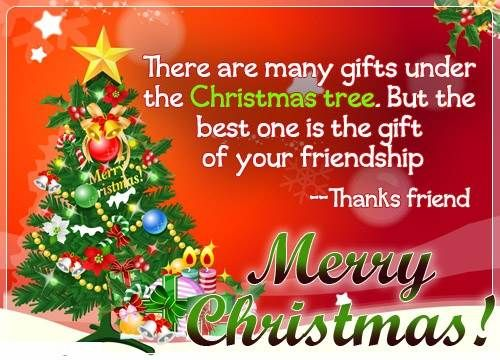 Merry Christmas Messages Wishes With Xmas Tree Gifts Christmas Quotes For Friends Christmas Messages For Friends Christmas Greetings For Friends