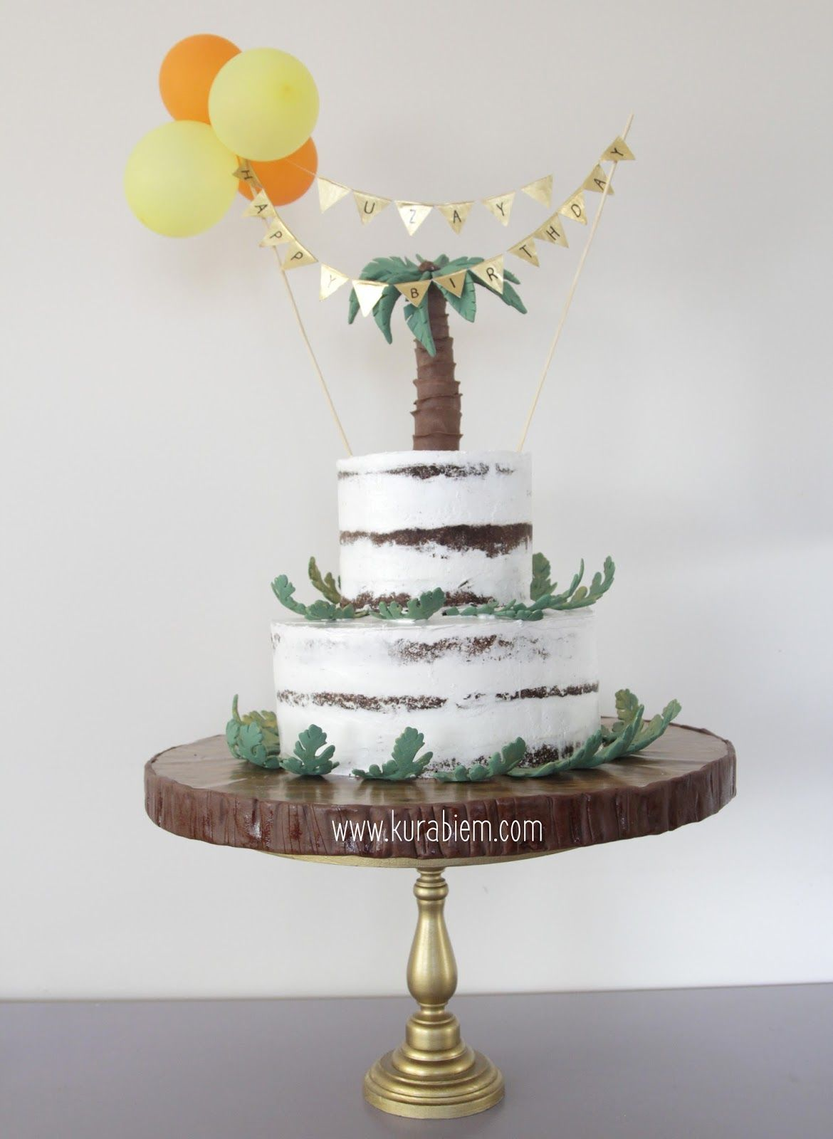 Rustic Cakepops Cake Naked Birthday
