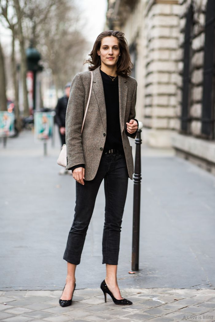 Fashion Inspiration French Style Young Women And French Chic