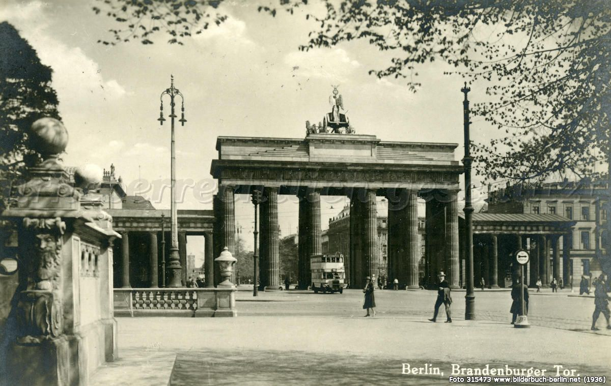 Brandenburger Tor Brandenburger Tor Brandenburger Tor Berlin Berlin Bilder