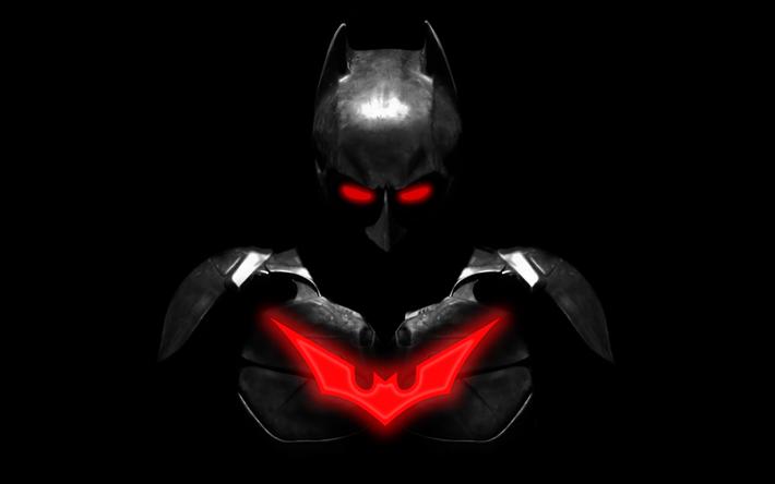 Download Wallpapers 4k Batman Superheroes Minimal Darkness