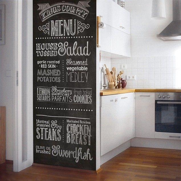 Self Adhesive Blackboard Foil Chalk Board Kitchen Diy Black Blackboard Foil Blackboard Wall Kitchen Chalkboard Wall Kitchen Kitchen Chalkboard