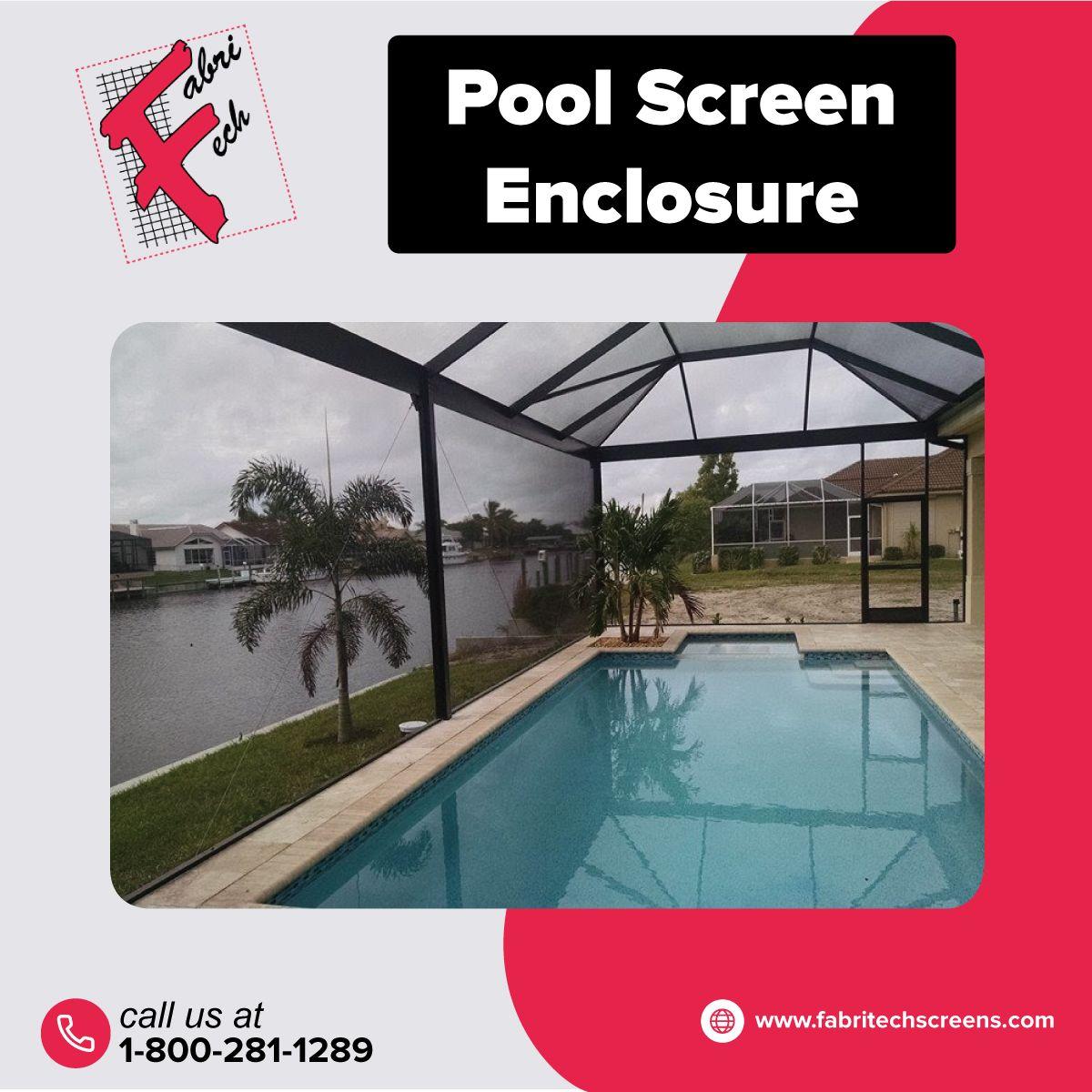 Florida Pool Enclosures Rescreening Railings Fabri Tech In 2021 Florida Pool Pool Pool Enclosures