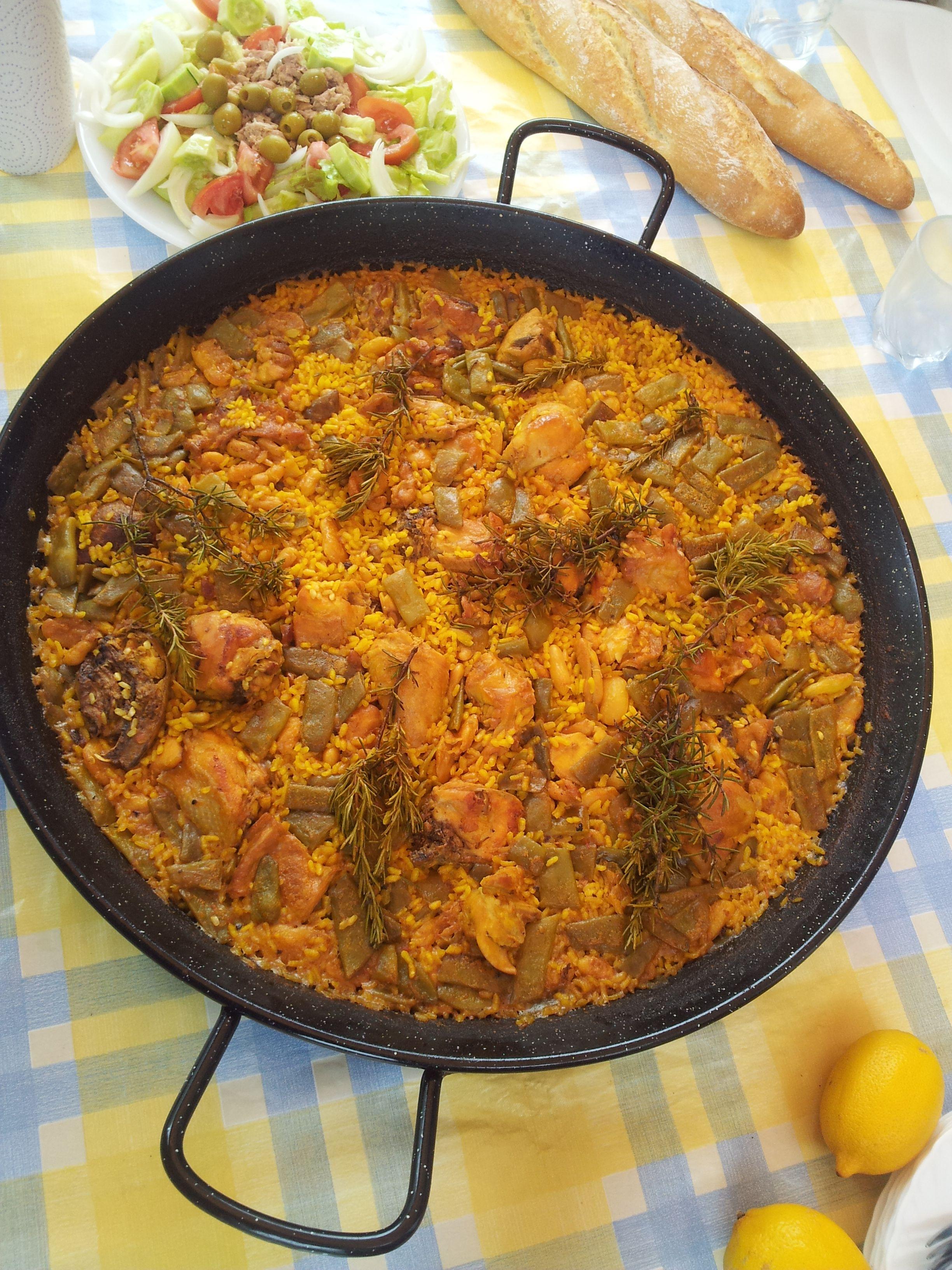 Paella valenciana | Gastronomía | Pinterest