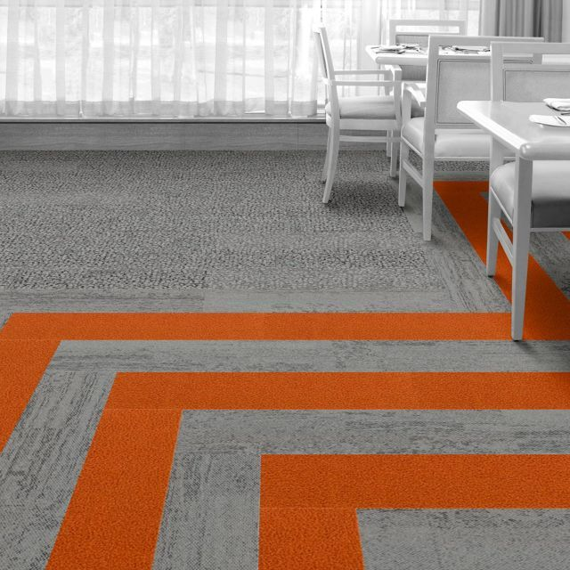 Interface Floor Design Hn830 Clementine Hn820 Limestone Hn840 Limestone Find Inspiration F Floor Design Modular Carpet Tiles Commercial Flooring