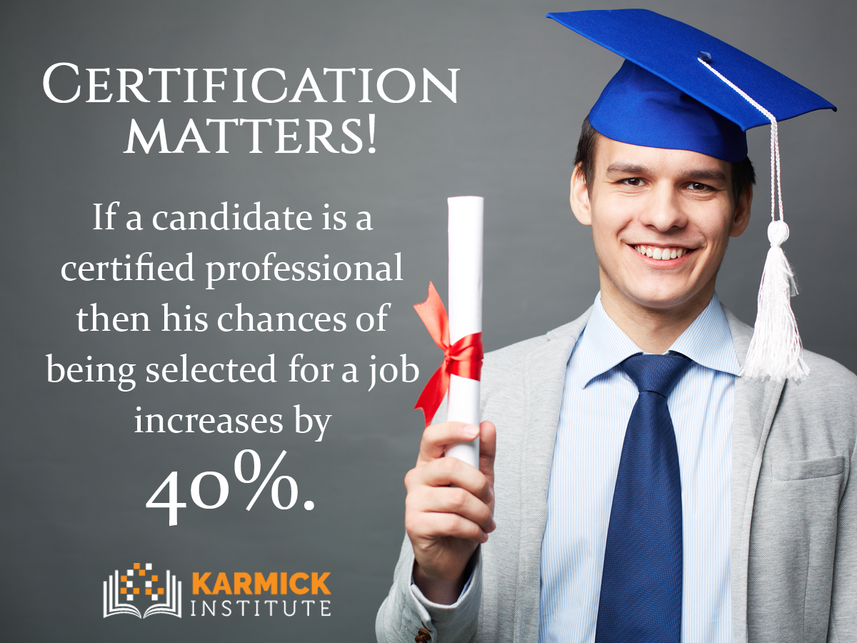 Certification Matters Certified Candidates Have A Higher Chance To