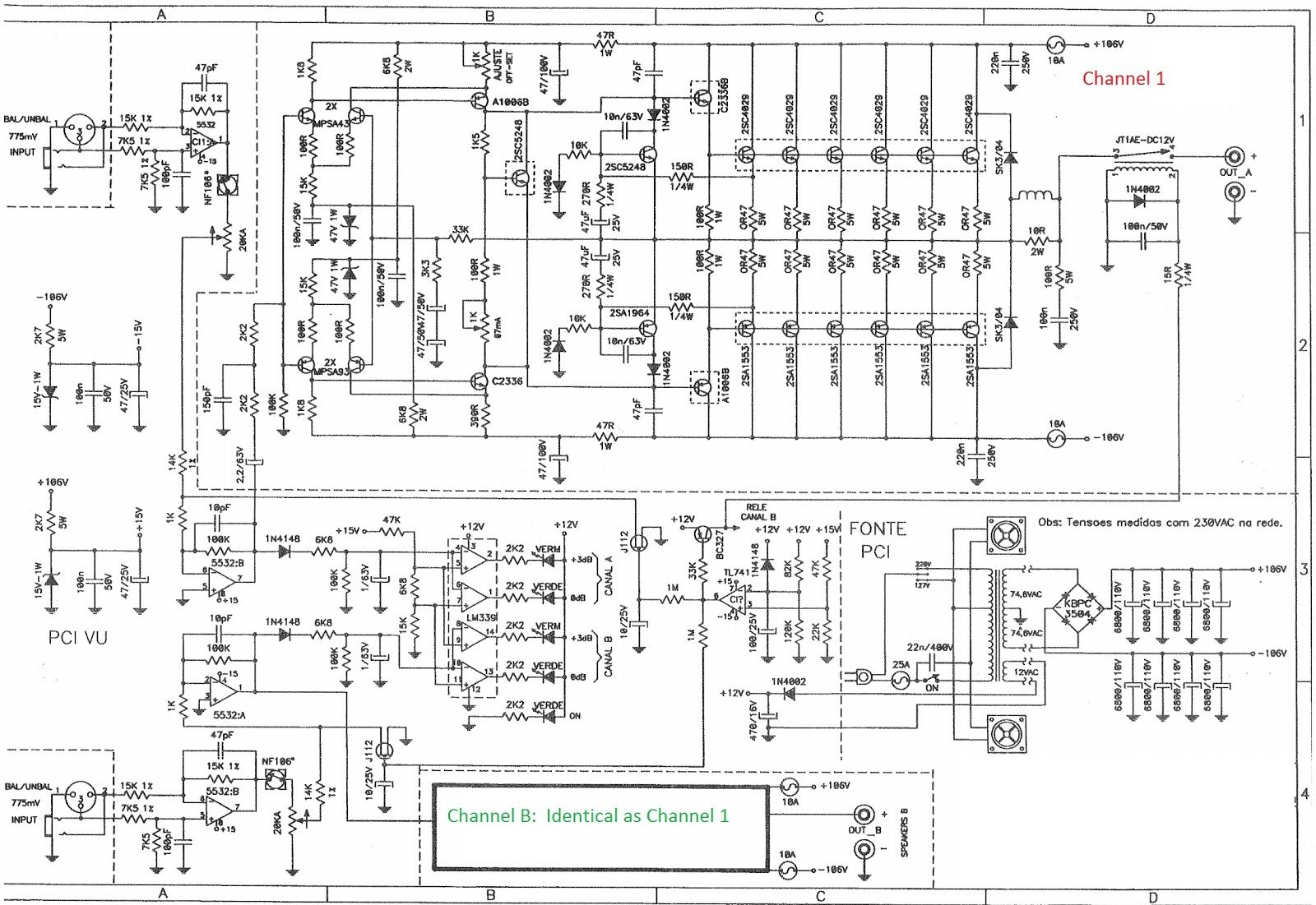 image result for staner power amplifier diagram