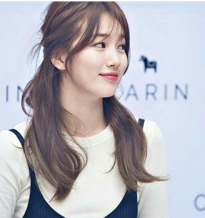 Suzy Bae Hairstyle Google Search Aktris Selebritas Kasual