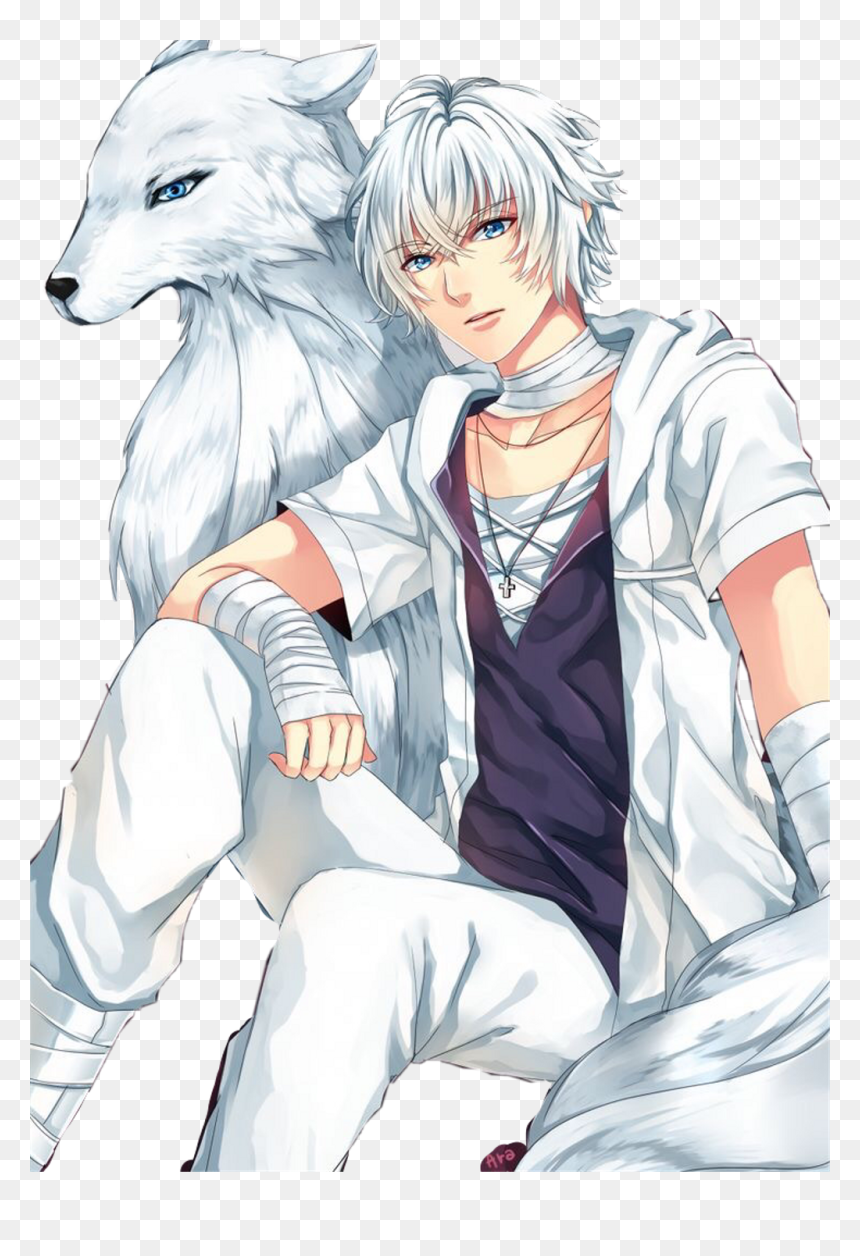Photo of Cool Anime Wolf Png – White Wolf Human Anime, Transparent Png – vhv