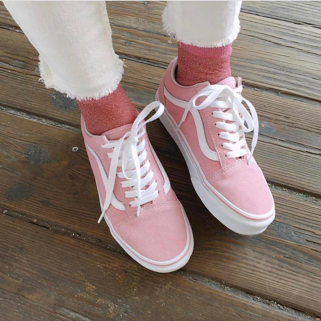 Pre Order Vans Old Skool Pastel Pink Size Eu 38 42 5 3 990 In 2020 Vans Old Skool Pink Vans Vans