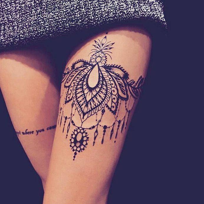 Tatouage de femme des id es pour trouver le tatouage id al bonnes id es futur et tatouages - Tattoo cuisse femme ...
