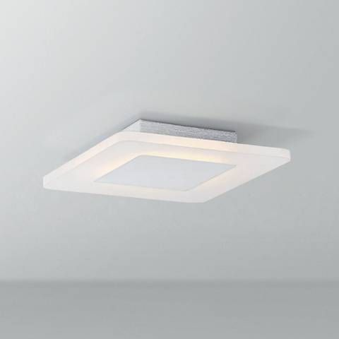 Platinum collection aglow 11 wide white led ceiling light 18c73 lamps plus