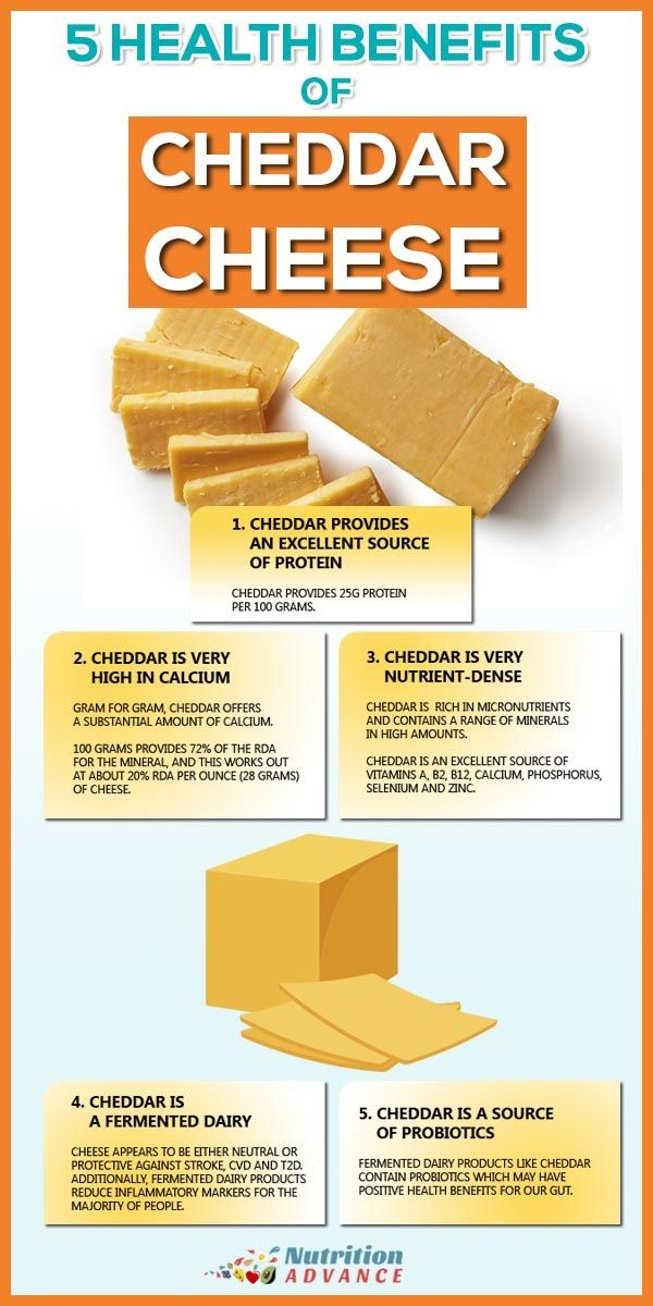 is cheddar cheese good for diet