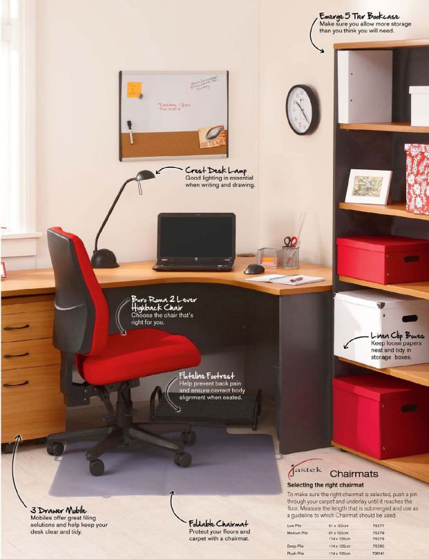 Everything To Make Your At Home Office Come Together! We Love To Be  Organised!