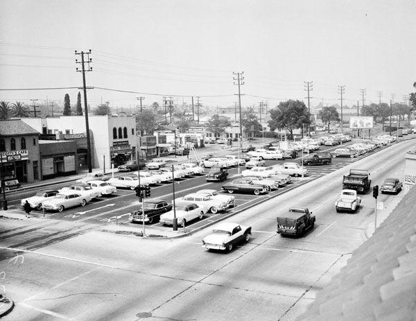 Photos Many L A Boulevards Began As Trolley Lines Culver City Los Angeles Area Los Angeles