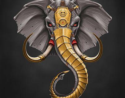 "Check out new work on my @Behance portfolio: ""Battle elephant"" http://be.net/gallery/45435769/Battle-elephant"