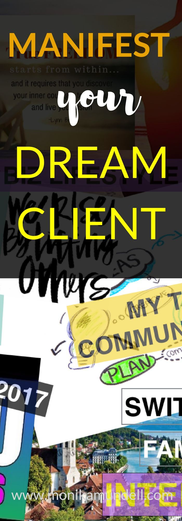 Want better clients who respect you and don't haggle with your prices? It's time to manifest your dream clients!   #manifesting #dreamclient #manifestation #businesstips