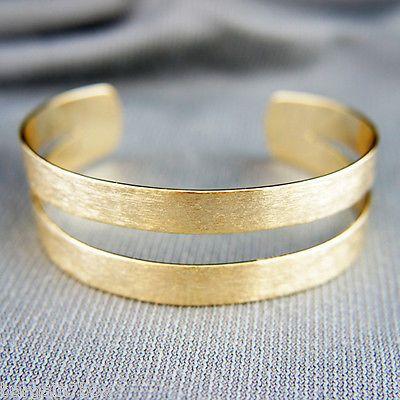 18k Gold GF large beautiful bangle bracelet https://t.co/U4nTD9o0zD https://t.co/x6m84AXbOe
