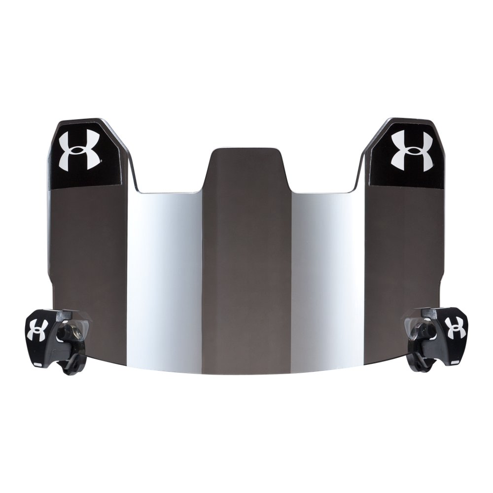 Football visor gray with mirror under armour us under