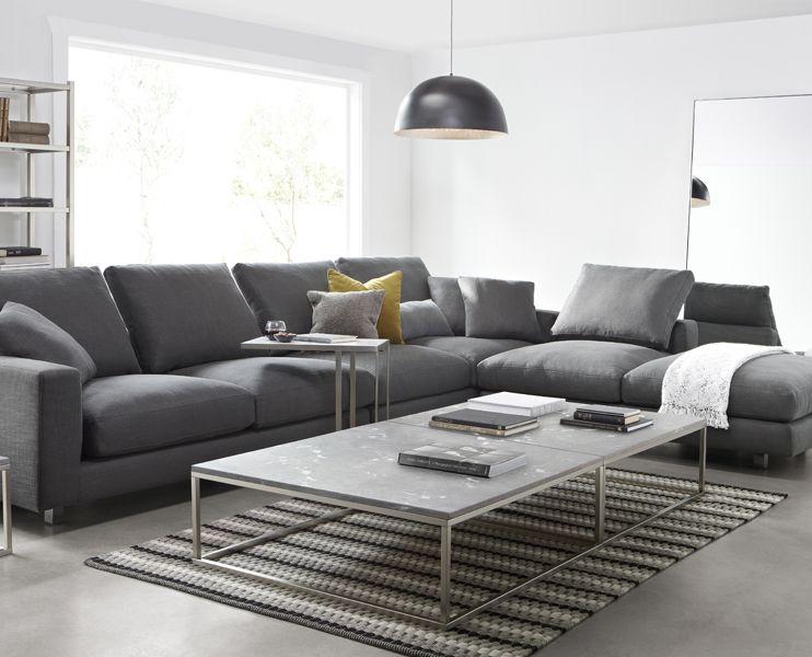 Different Couch Styles freedom landmark 3 piece modular sofa $4999 | fabric sofas