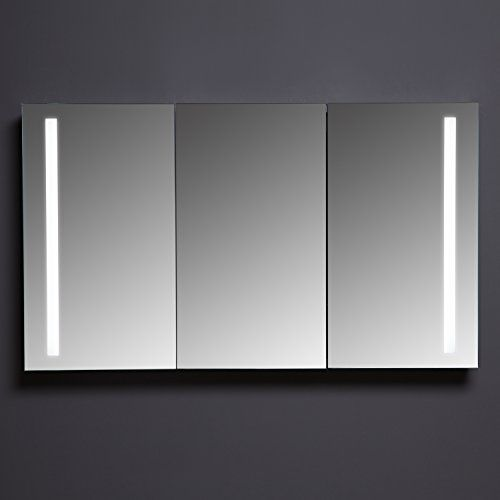 Maykke Emery 48 W X 28 H Led Mirror Medicine Cabinet With 3