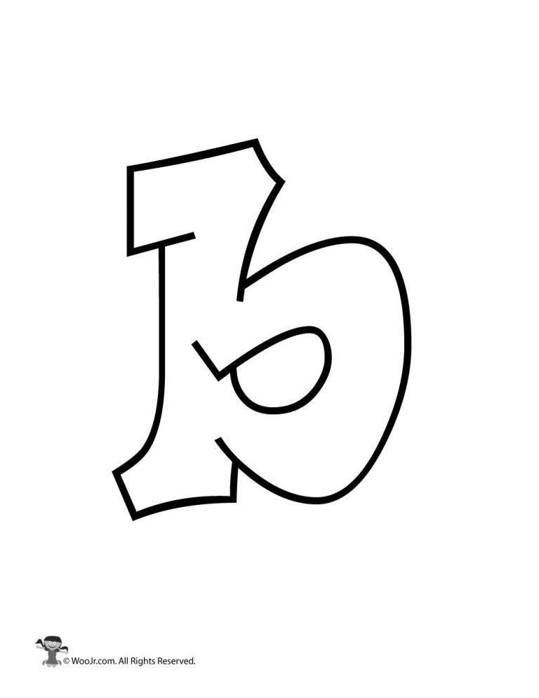 graffiti lowercase letter b bubble letters alphabet lower case letters letter b lowercase