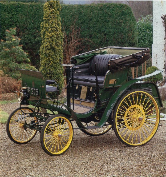 The Benz Velo and the Duryea Motor wagon was the first commercially ...