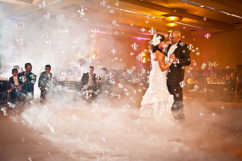 Wedding Bubble Maker And Smoke Machine Not Crazy About The But Would Be