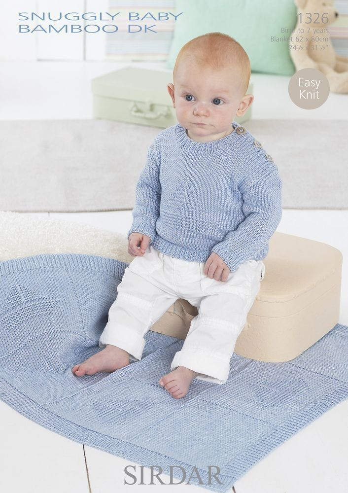 Beautiful Sirdar Knitting Patterns For A Cozy Blanket And Round Neck