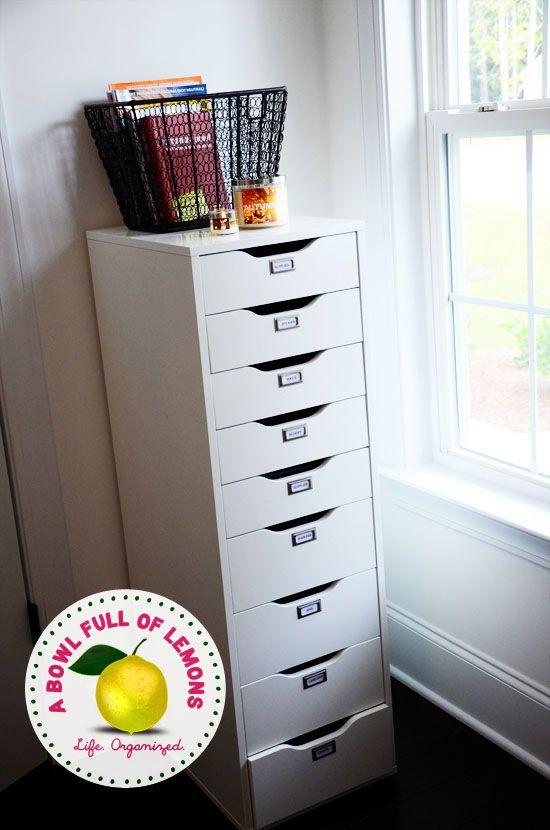 wie sie das b ro zu hause zu organisieren ordnung pinterest das b ro zu hause und b ros. Black Bedroom Furniture Sets. Home Design Ideas