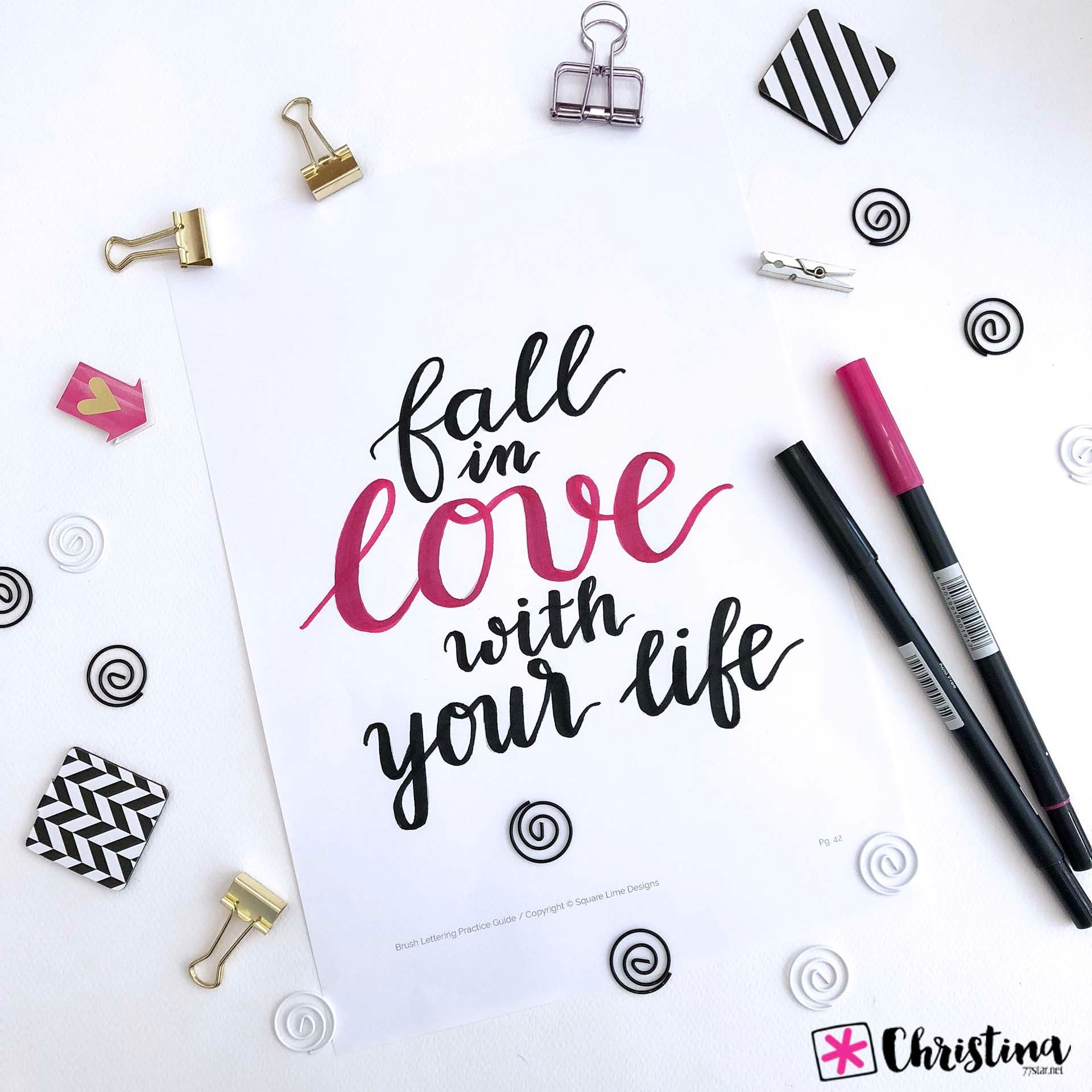 Brush Lettering Is So Versatile You Can Use It To Create