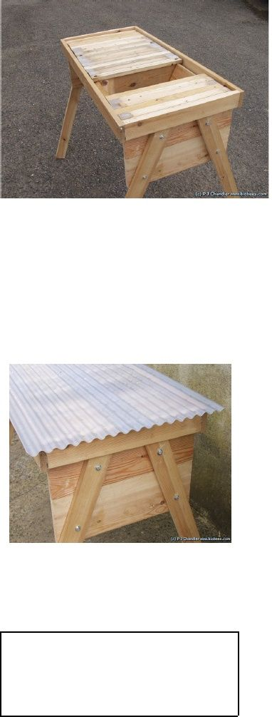 How to Build a Simple Top Bar Hive | Woodwork | Top bar ...