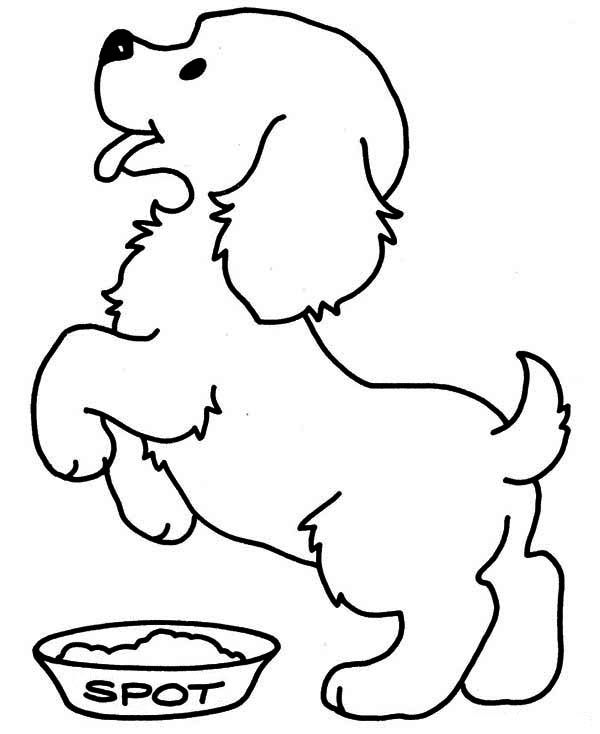 Pictures Of Puppies To Color And Print