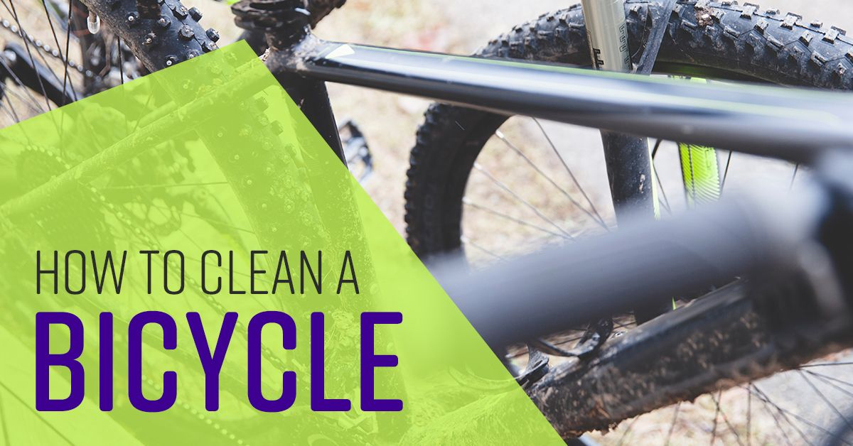 How To Deep Clean A Bicycle Cleaning Deep Cleaning Clean