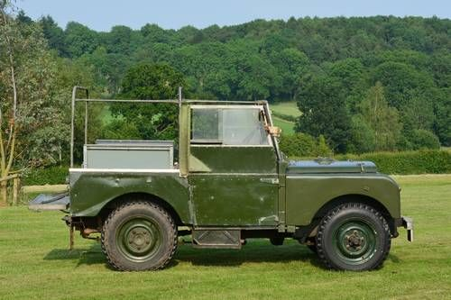 Land Rover S1 80-inch For Sale by Auction (1950)