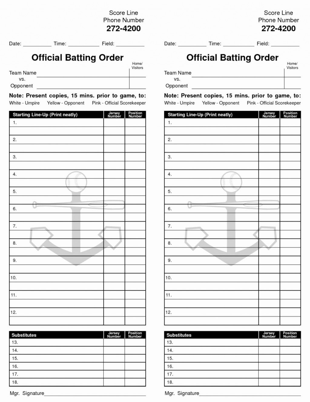 The Inspiring Softball Field Line Up Inside Softball Lineup Card Template Photo Below Is Other Parts Of Softball L Baseball Lineup Card Template Batting Order