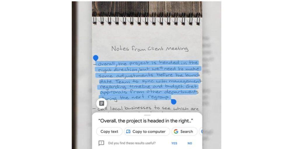 تطبيق عدسة Google لاندرويد وايفون يتيح نسخ النصوص من الصور للكمبيوتر Galaxy Phone Samsung Galaxy Phone App