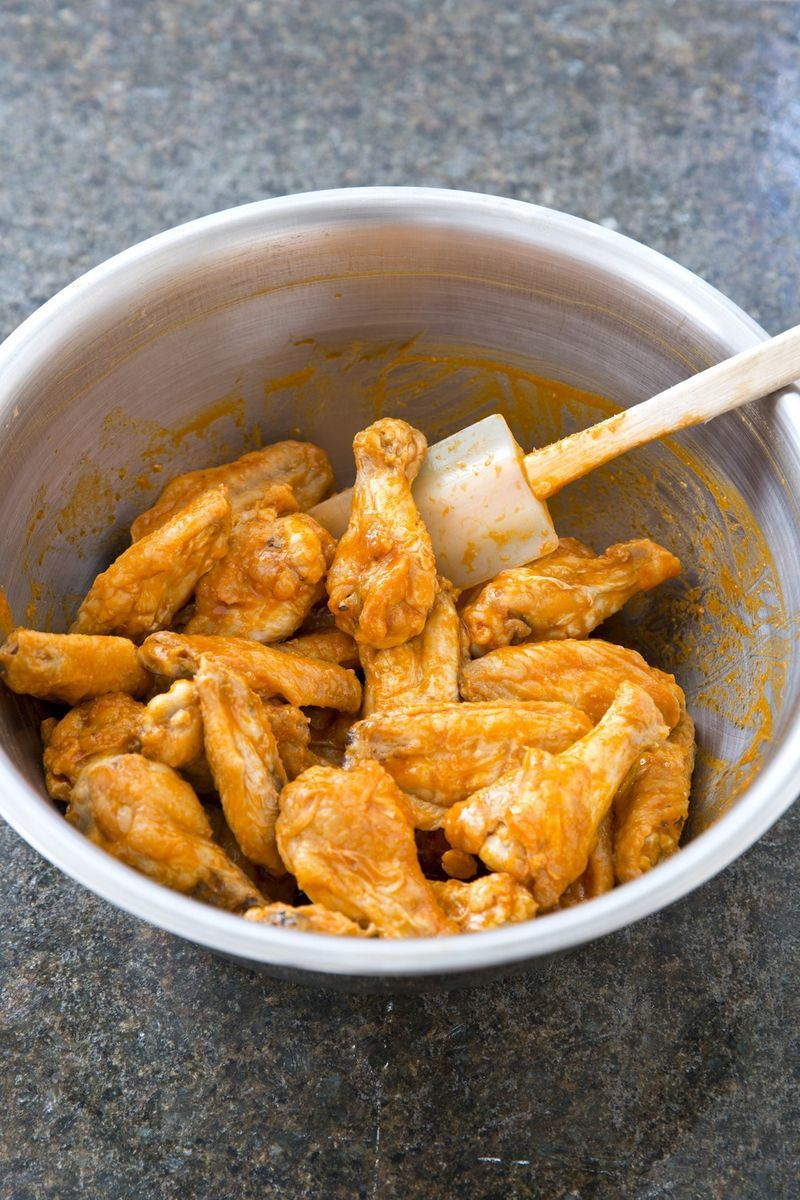 America S Test Kitchen Baked Chicken Wings