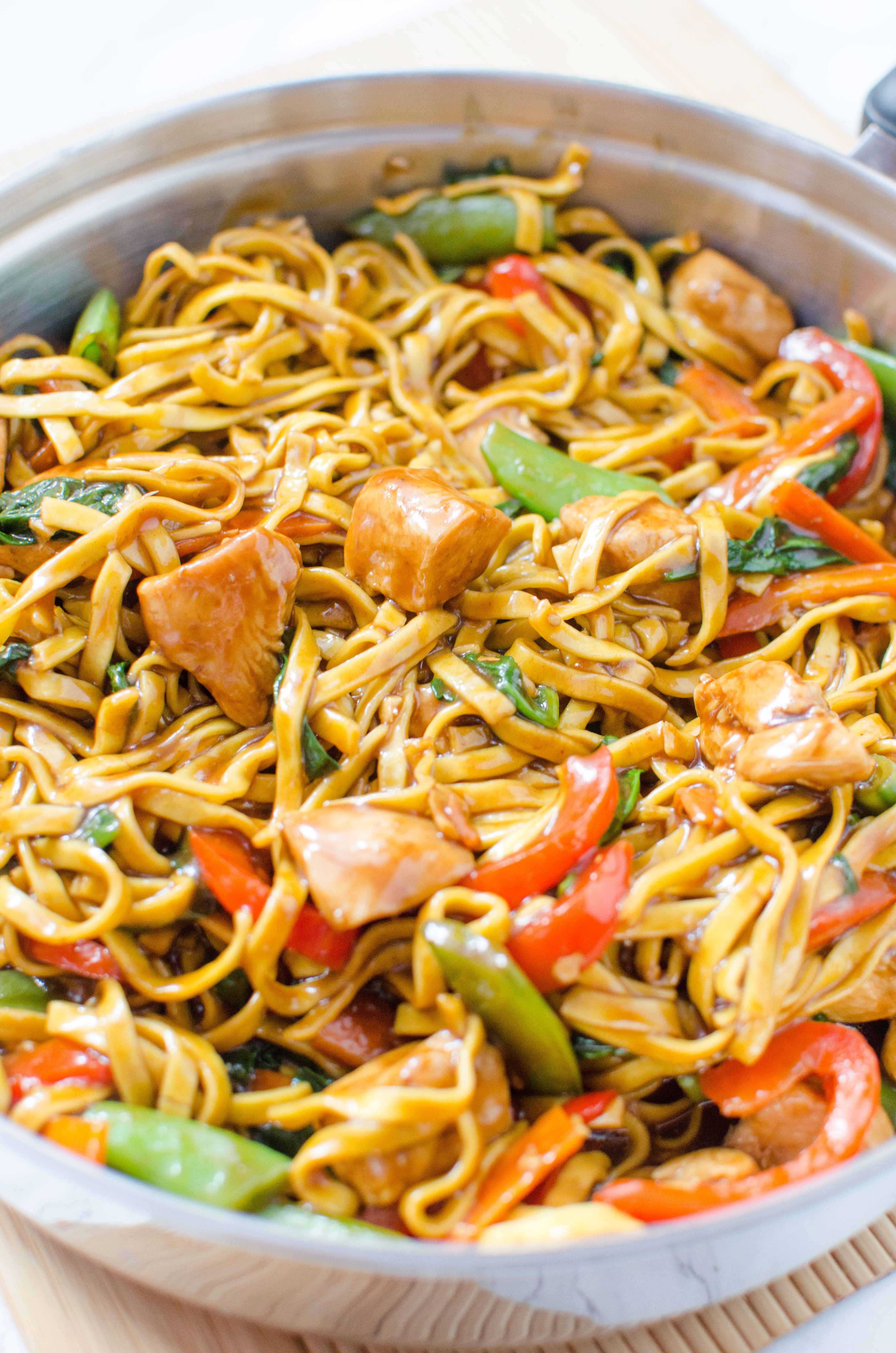Chicken lo mein homemade takeout style recipe chicken lo mein chicken lo mein homemade takeout style recipe chicken lo mein lo mein and homemade forumfinder Images