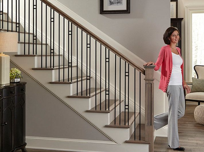 Best Crown Heritage Forma Iron 3404 Stair Railing With Images 640 x 480