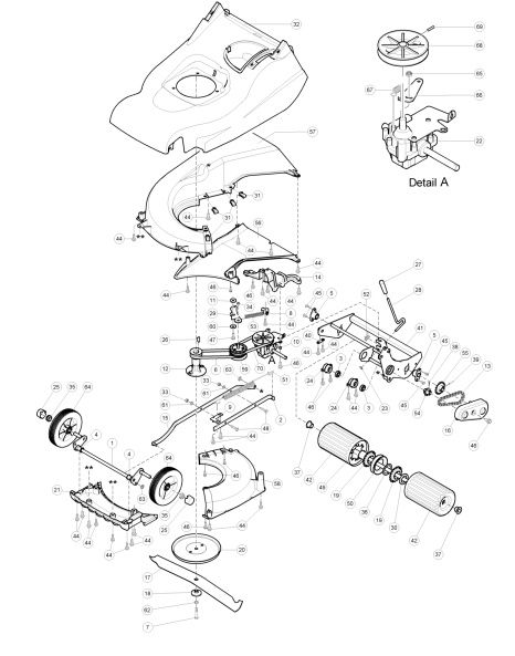hayter harrier 48 491e270000001 spares ordering diagrams