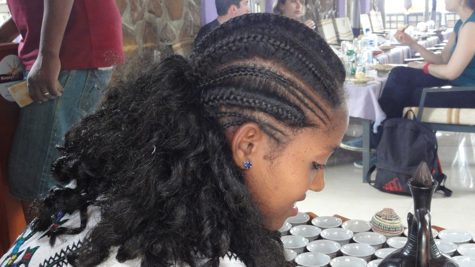 ethiopian braided hairstyles afrikan hairdress pinterest. Black Bedroom Furniture Sets. Home Design Ideas